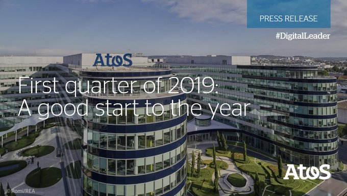 Today we announced the revenue for the first quarter of 2019: A good start...
