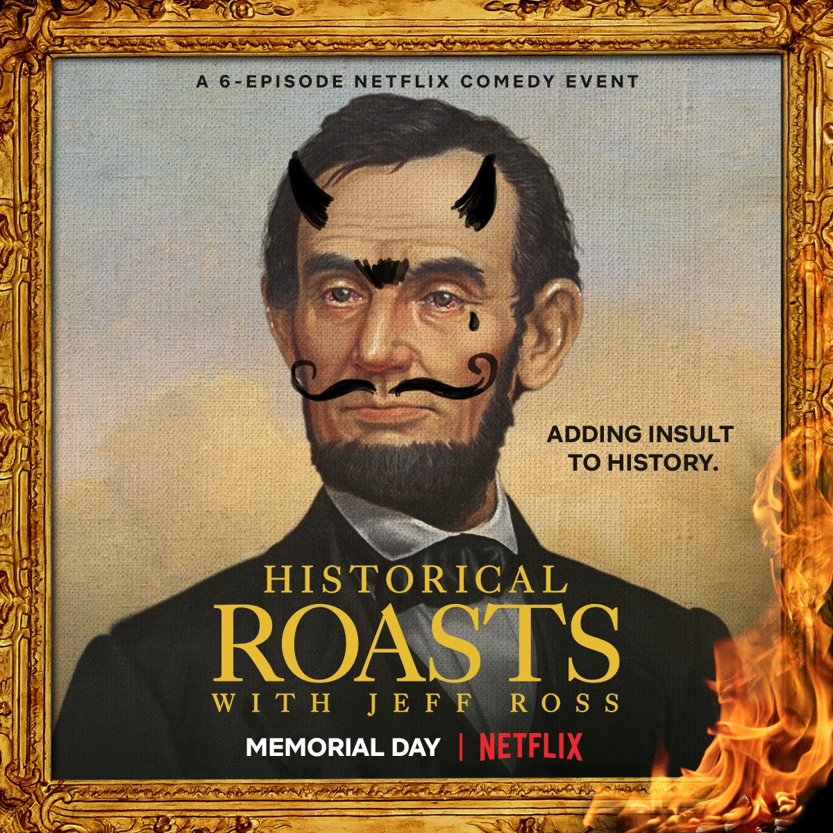 Image result for netflix historical roasts