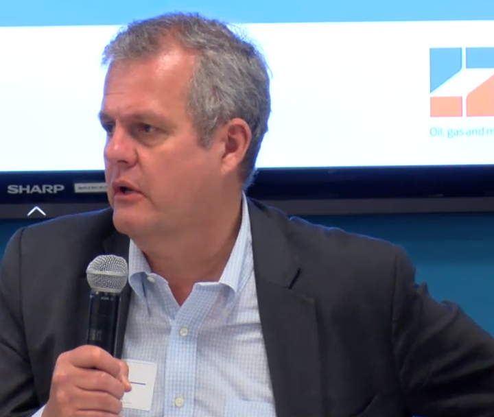 """.@Mark_EITI: """"It isn't just intntl donors who want more information on state #oil companies. It's ministries of finance, civil society actors, and others. This database is a valuable addition to what is known about #NationalOilCompanies."""" Watch live: http://bit.ly/NOCstream #OOTT"""