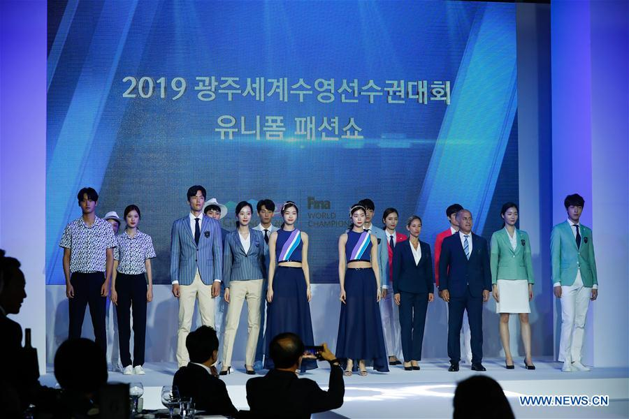 RT @Gwangju2019_: Check out the latest  #fashion from the Gwangju 2019 @fina1908 World Championships! #diveintopeace https://t.co/MGnrU13Ejy