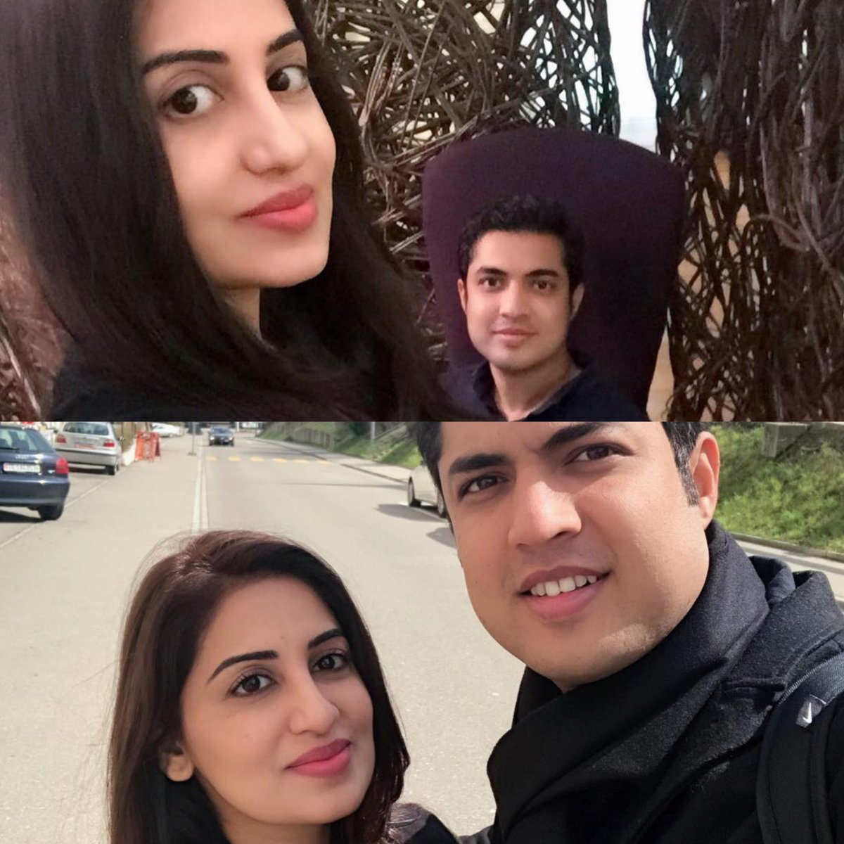 Let's vote! Who took a better selfie?  for @iqrarulhassan  for @fara_yousaf   #Throwback #Travel2018 #FaraIqrar #Iqrarulhassanpic.twitter.com/5OTbVihJAN