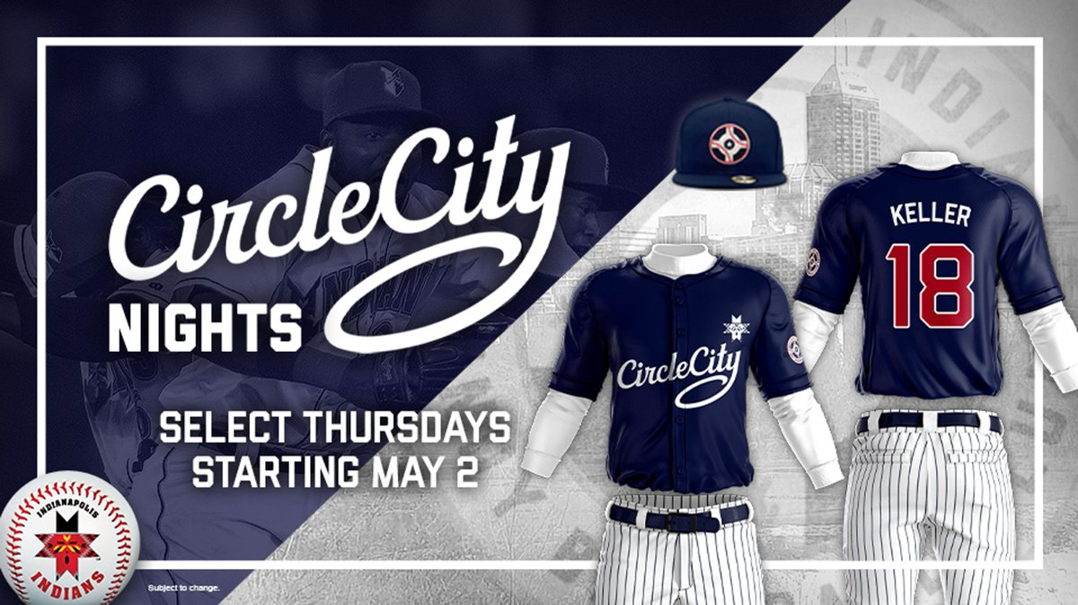 8576b893bba indianapolis indians unveil new circle city jersey design
