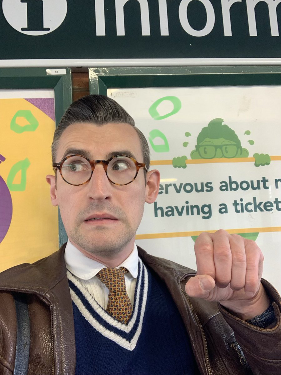 'Nervous about not having a ticket?'   Well I wasn't until I saw the picture they'd used...🤦♂️ https://t.co/4osAoREbqv