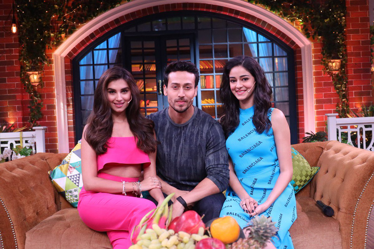#TigerShroff #AnanyaPanday & #TaraSutaria  IMAGES, GIF, ANIMATED GIF, WALLPAPER, STICKER FOR WHATSAPP & FACEBOOK
