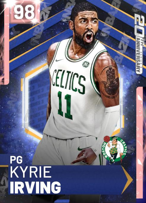 20th #Anniversary #KyrieIrving packs are stacked  #PD #Kyrie #Celtics PD #Kyrie #Cavs PD #GrantHill PD #DeMarDeRozan 💎 #KristapsPorzingis & More.  For More #updates & #LockerCodes #VC #MT #NBA2K19 👉Follow Us 👉Like & RT 👉Go Here http://bit.ly/2k19lockercodes