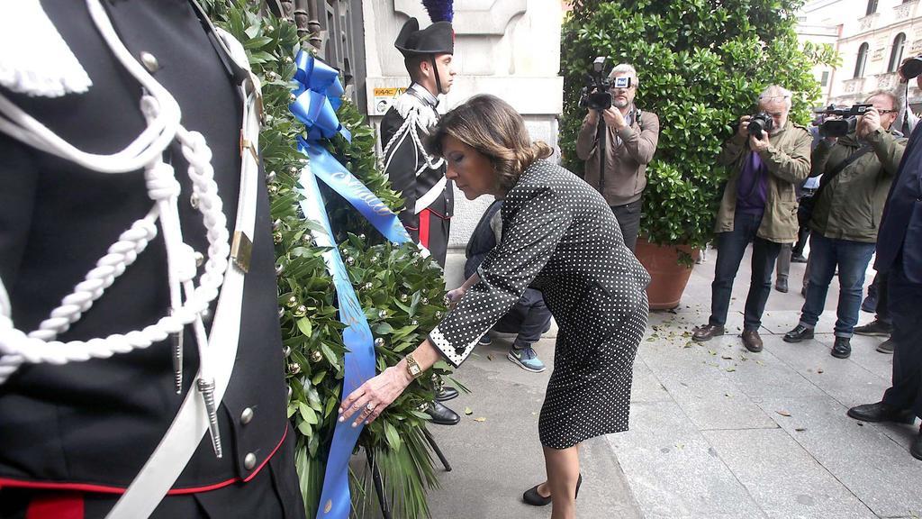Casellati, 25 aprile a Padova: