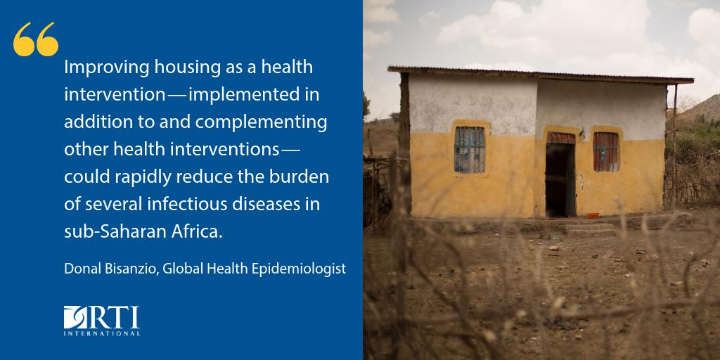 test Twitter Media - In the past 15 years, housing has dramatically improved in sub-Saharan Africa. On #WorldMalariaDay, @RTI_Intl @donal_bisanzio examines how increased investment in housing can have a positive effect on health outcomes in #malaria, #NTDs & more: https://t.co/Q4nP21rEE6 @USAIDGH https://t.co/QxQDtCK6q3