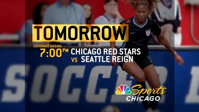 After a thrilling home opener last week, the @chiredstarsPR are back on NBC Sports Chicago tomorrow! Coverage starts at 7 PM.