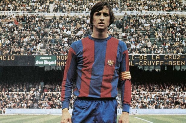 Today would be serving 72 years Johan Cruyff. As a player, one of the greatest of all time. And as DT, he revolutionized the game. The maximum symbol of Ajax, an absolute leader in Holland and the genius who forever changed the history of Barça.  Forever on our thoughts. Legend.