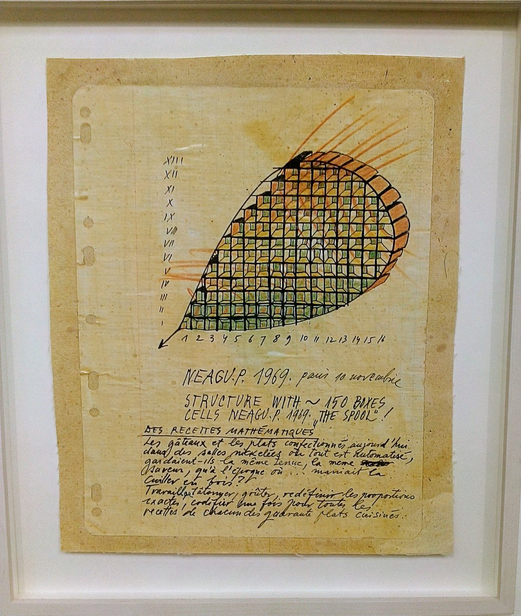 Excited to see these Paul Neagu (1938-2004) pieces at @artbrussels. Neagu was a visionary and founded the Generative Art Group in 1973.  The group had five members, Neagu himself and four fictitious characters. <br>http://pic.twitter.com/sh6HnoDPuc