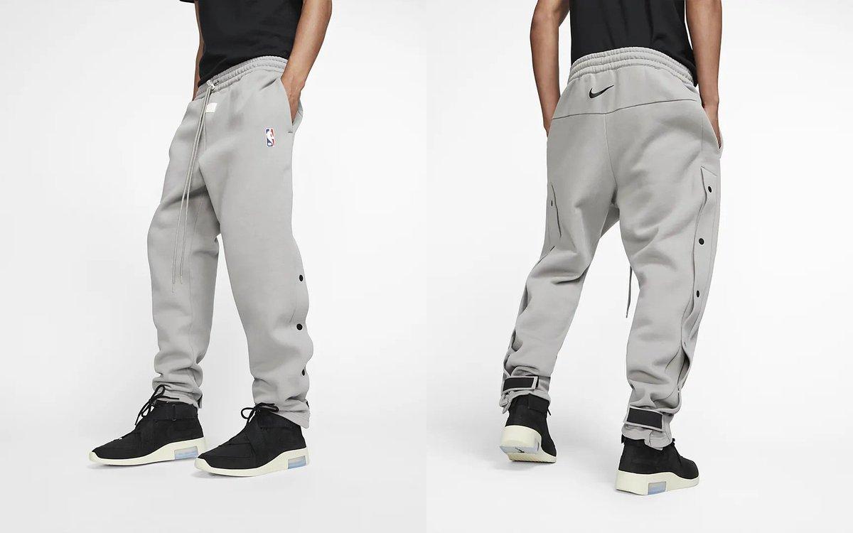 26402651 Fear of God x Nike Warm-Up Pants finally releasing Saturday Link ->  https:// go.j23app.com/bqw http://pic.twitter.com/wieGfZVVHO