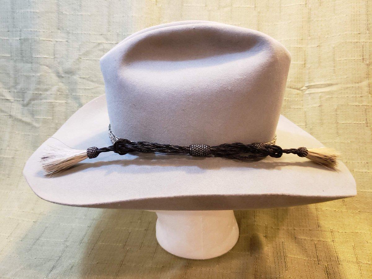 4e10e00f Vintage Resistol 4X Beaver Fur Felt Gray Western Men's Hat Horsehair Band 7  1/4 Self Conforming https://etsy.me/2UZfLg7 #Etsy #Vintage #AtticEsoterica  ...