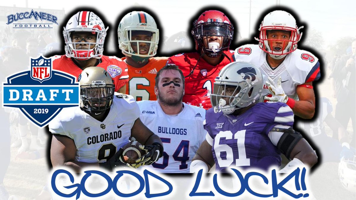 5e992a645 ... former Bucs as they pursue an opportunity to play in the NFL. BucNation  is rooting for each of you!! Proud of how well you represent Blinn College.