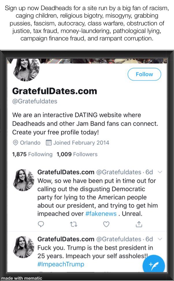 jam band fan dating site