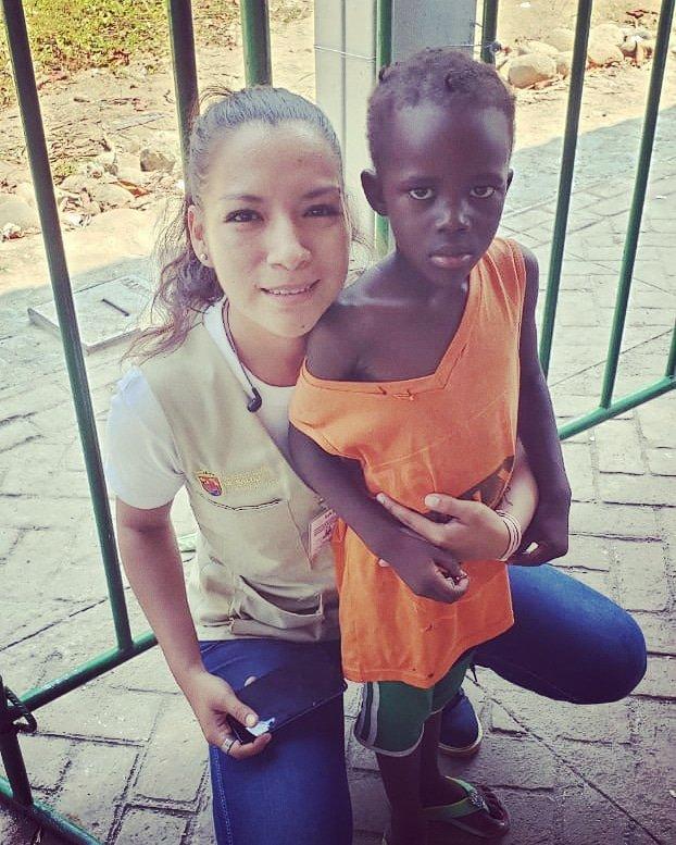 🧒🏿👧🏻= no es el color de la piel, es el color del corazón #AG #JSVII #Tapachula #Migrantes #SS https://t.co/IRGCKgCsMO