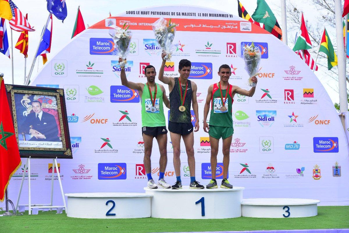 Retour en #photos à la 5 éme édition du Marathon International de #Rabat qui a connu la la participation de plus de 24 000 runners représentants 50 pays  #MarathonRabat #MarathonRabat2019 https://t.co/YckV5CUE60