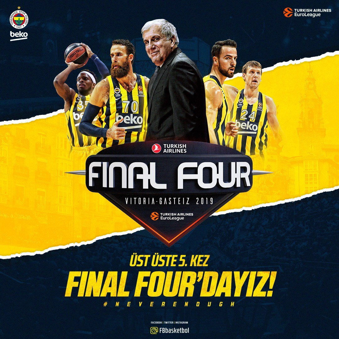 Fenerbahçe Beko's photo on #NeverEnough