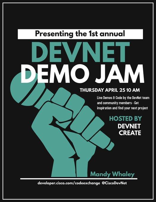 DevNet Create Developer Conference | April 10-11, 2018