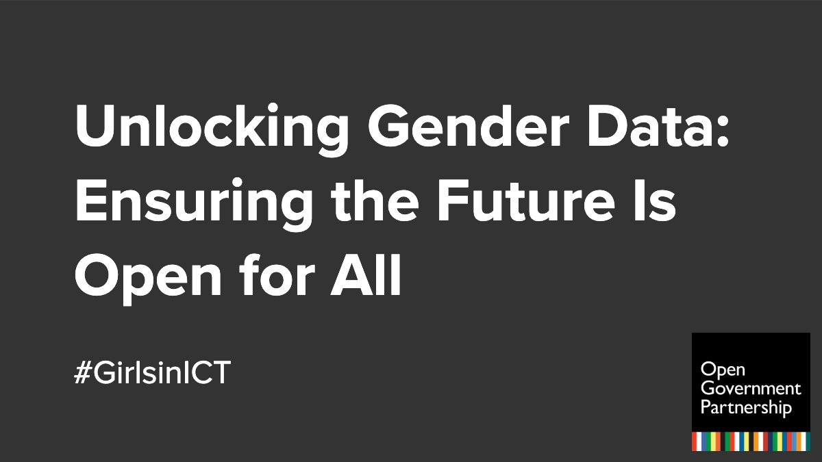 Happy #GirlsinICT Day! Explore ways to improve #OpenData to ensure it reflects the diverse needs of all citizens, including women and girls: https://bit.ly/2wNu7lI @OpenHeroines #FeministOpenGov