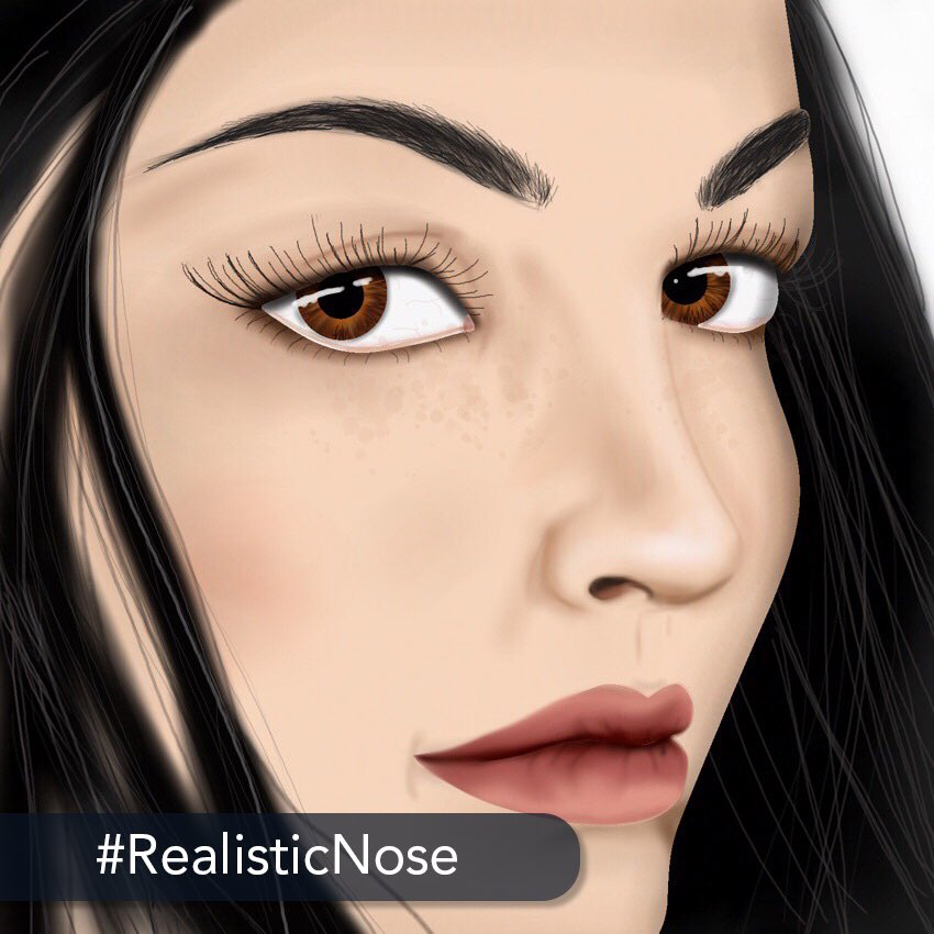 👑 The challenge: Today's #advanced #challenge is to unleash your #drawing skills and achieve realism by creating a #realistic #nose from the side view. ❤️ Start coloring today on your iPhone or iPad: http://get.colortherapy.me #color #coloring #coloringbook