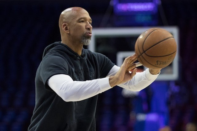 The Suns are traveling to Toronto to meet with Monty Williams on Friday reports @wojespn.