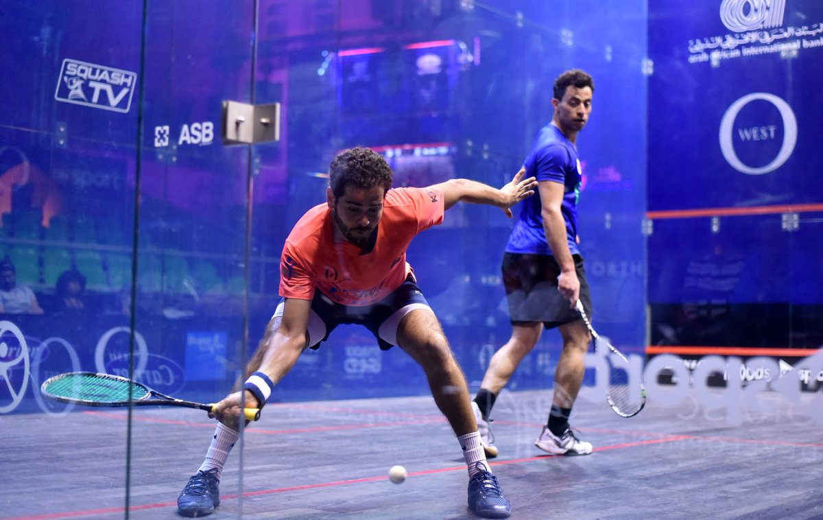 test Twitter Media - No.4 seed @karimabdelgawad is into the final of @ElGounaSquash after beating @FaresDessouky in the last four  Read all about it, along with the rest of the action here 👇 https://t.co/5aQy26yLE3 https://t.co/wz3uxAuagN