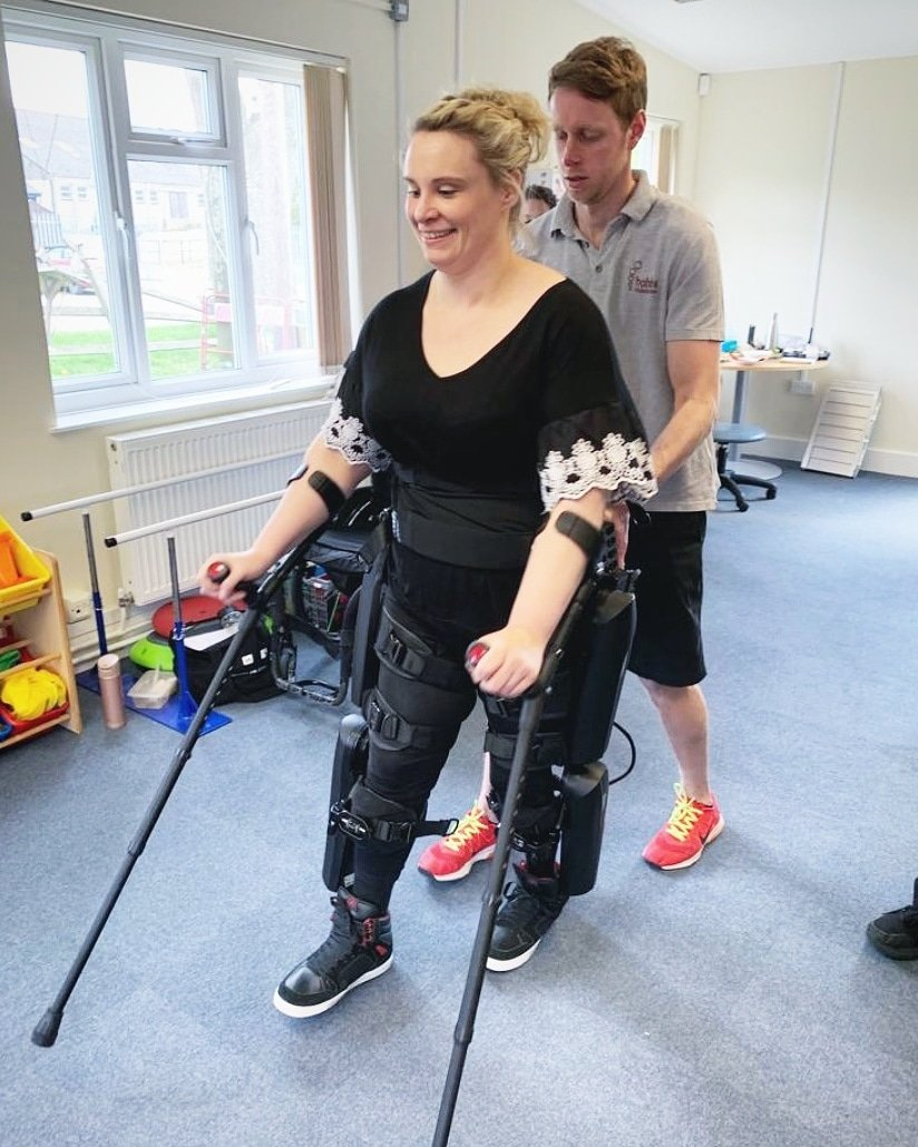 Dream big  Start small Work hard Stay focused Keep going forward Come on 'Rodney', time to get started on our new adventures together....🤖👣♥️ #paralysed #spinalcordinjury #rewalk #rewalkrobotics #exoskeleton #newadventures #nextchapter