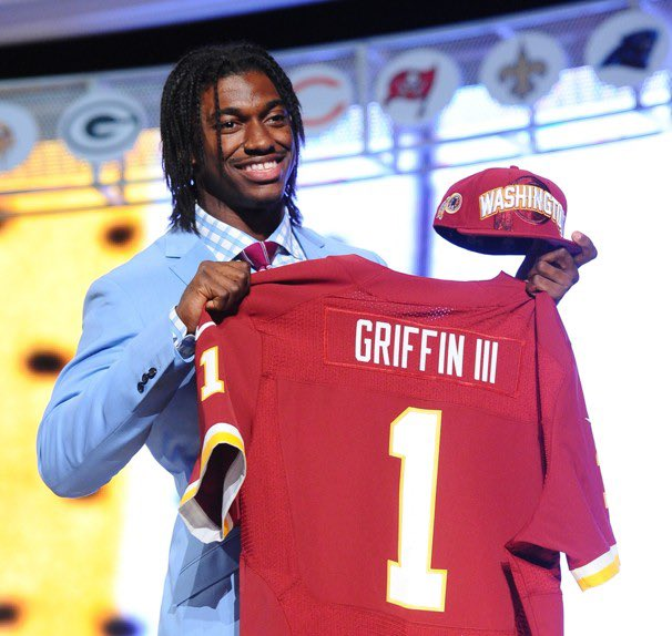 Robert Griffin III's photo on #NFLDraftDay