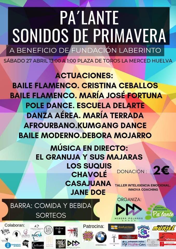 ¿Me ayudas a difundir nuestro #sonidosdeprimavera? El sábado en #Huelva.