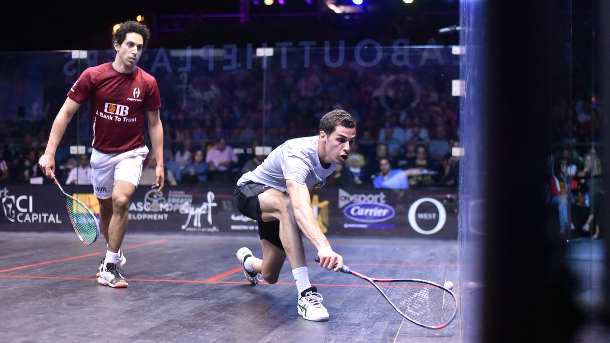 test Twitter Media - Result - @ElGounaSquash Men's SF  @AliFarag comes back from behind to beat @TkMomen 3-2: 9-11, 2-11, 11-5, 11-9, 12-10 (84m)  #Squash https://t.co/LcuIpWYrVG