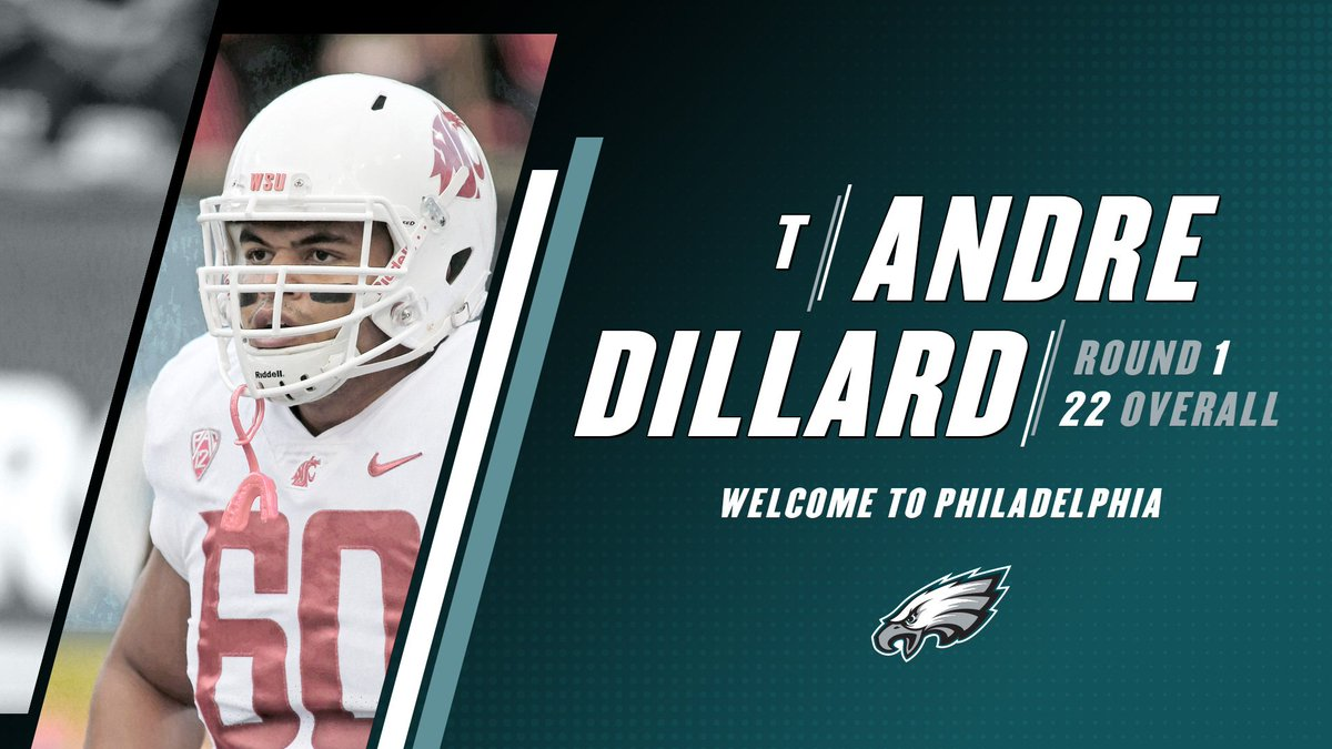 Philadelphia Eagles's photo on Andre Dillard