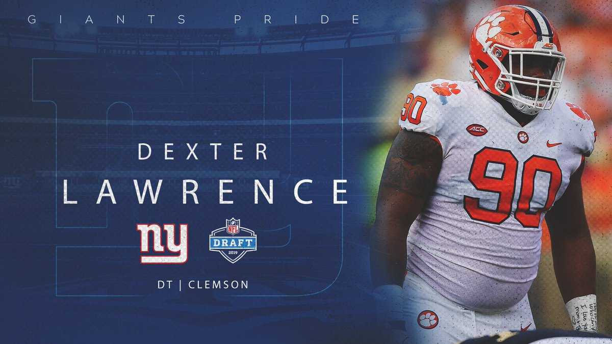 New York Giants's photo on Dexter Lawrence