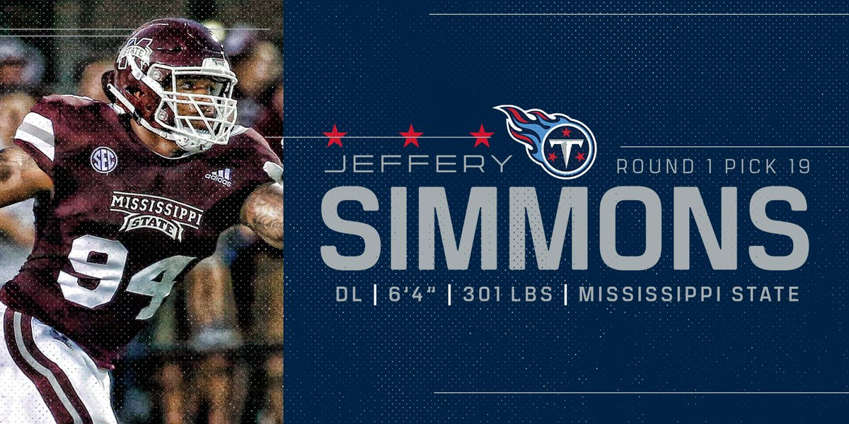 Tennessee Titans's photo on Jeffery Simmons