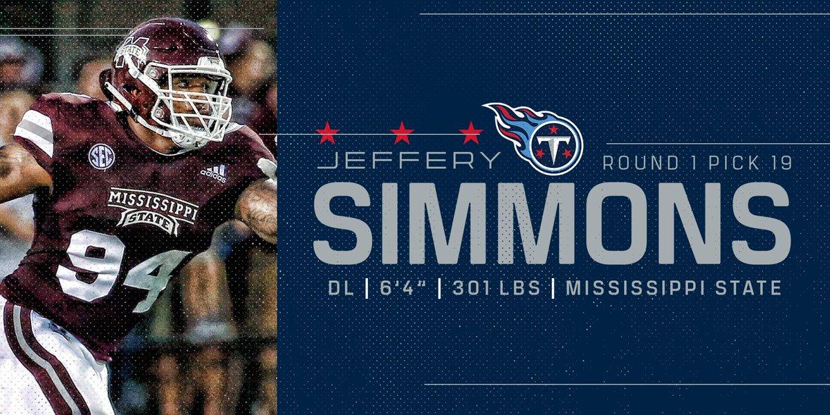 Tennessee Titans's photo on Jeffery Simmons