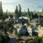 Image for the Tweet beginning: Aerial photos show Disney World's