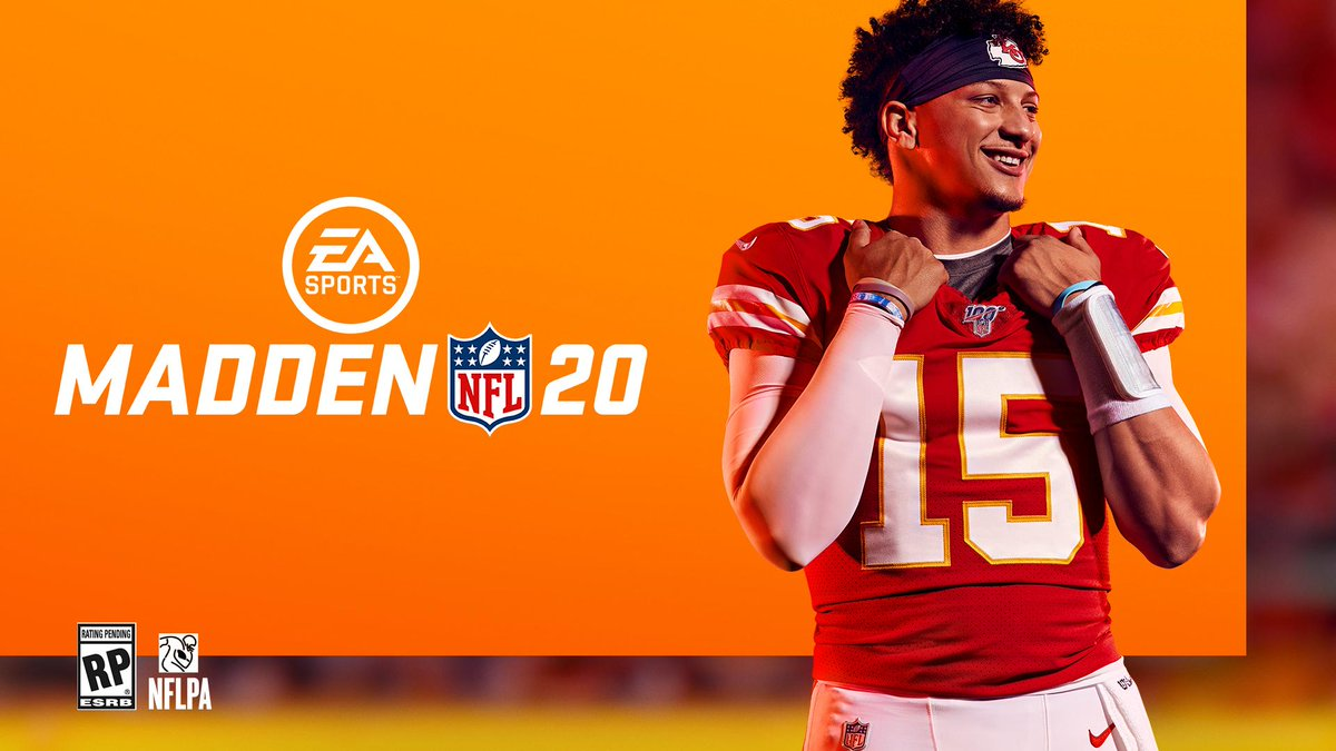 c5484d080d91 breaking nfl mvp patrick mahomes will be this year s madden cover athlete