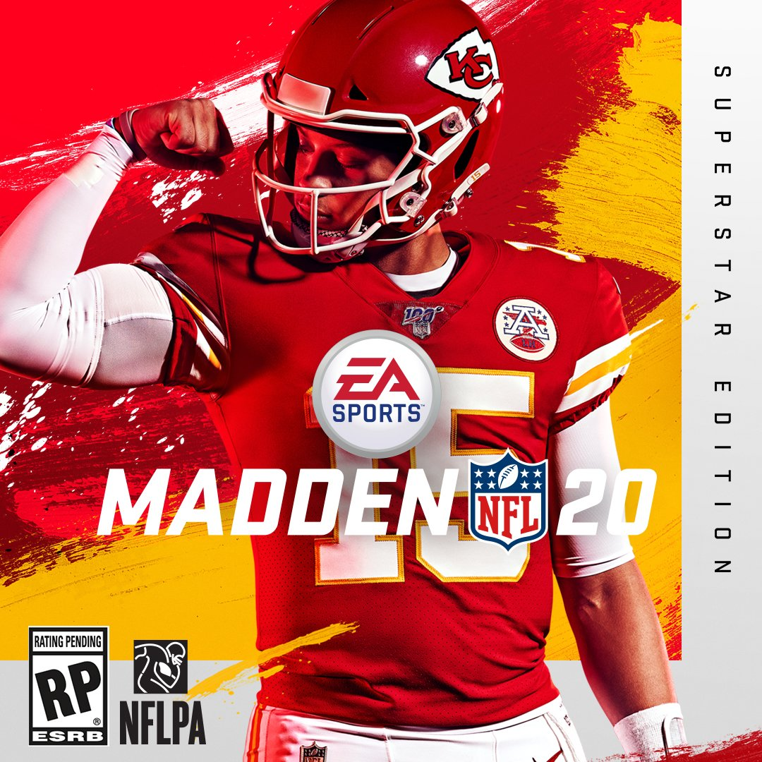 Breaking: Patrick Mahomes is @EAMaddenNFL's cover athlete for Madden 20 go.si.com/eaAmi03