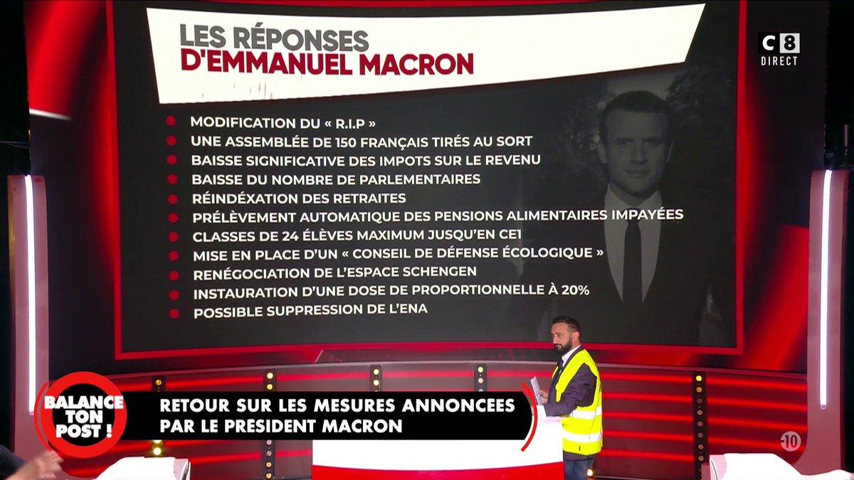 Les annonces faites par @EmmanuelMacron ! #BalanceTonPost <br>http://pic.twitter.com/Odu7BqNH8r