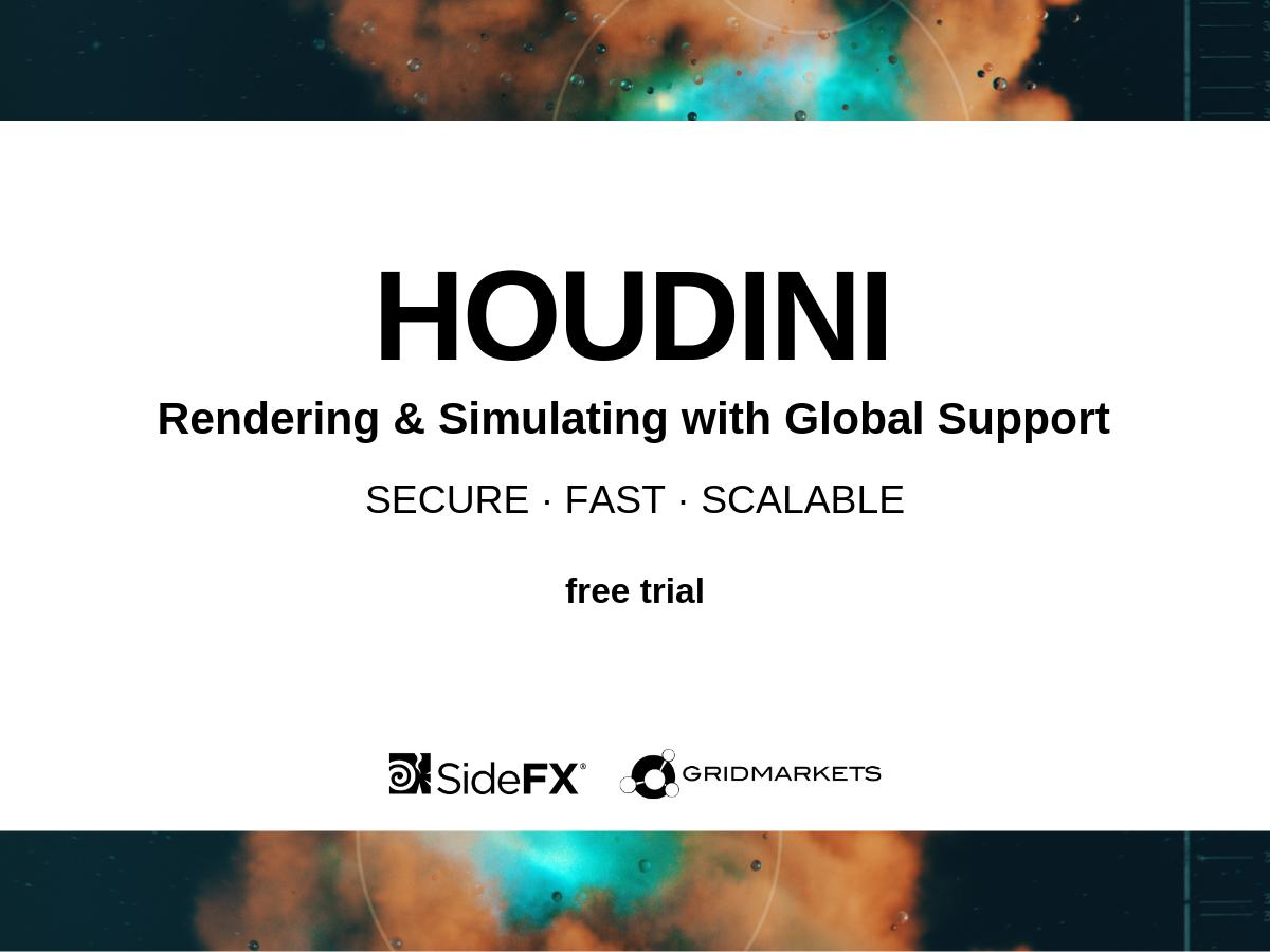 Secure / Fast / Scalable Houdini Rendering and Simulating