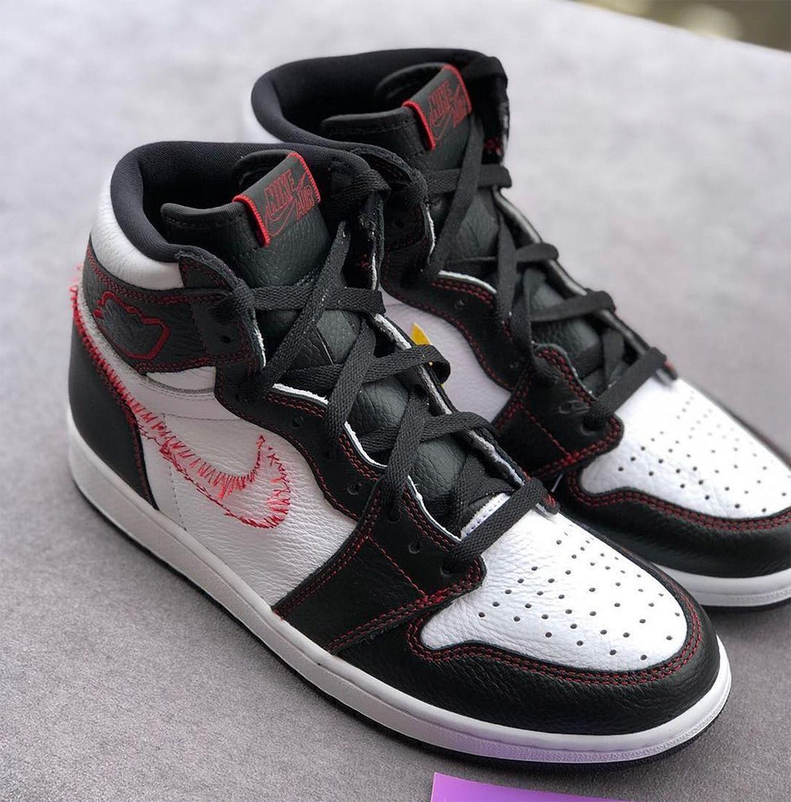 ab0c393df09e Lateral swooshes are subtracted from the equation on the upcoming Air  Jordan 1