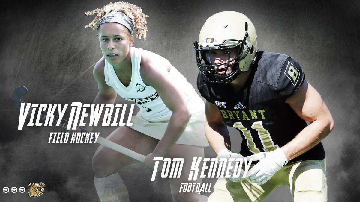 The Strength & Conditioning Award winners are Vicky Newbill of @BryantFH and Tom Kennedy of @BryantUFootball!