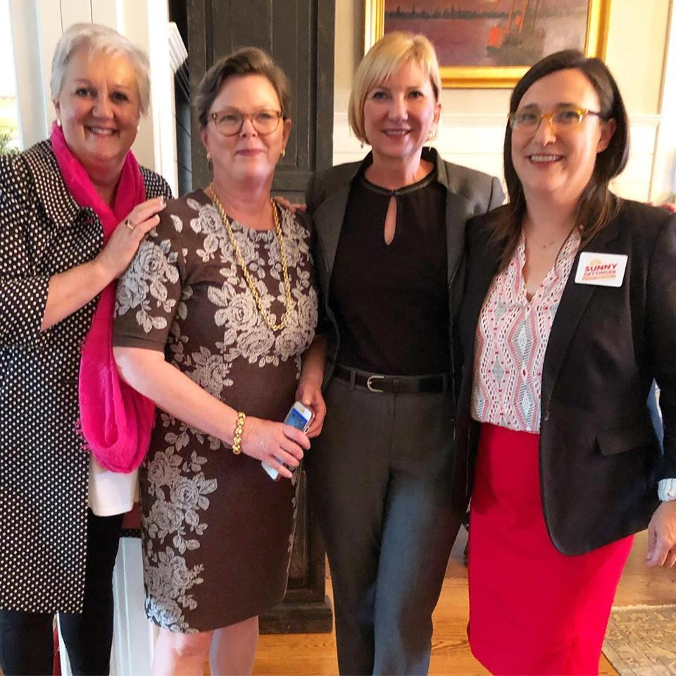I am very proud to have the support of these amazing women leaders. Thank you to @audreymoranjax,  @polsonforjax and @pollamb for your mentorship and your incredible leadership. We will build a brighter Jacksonville together.