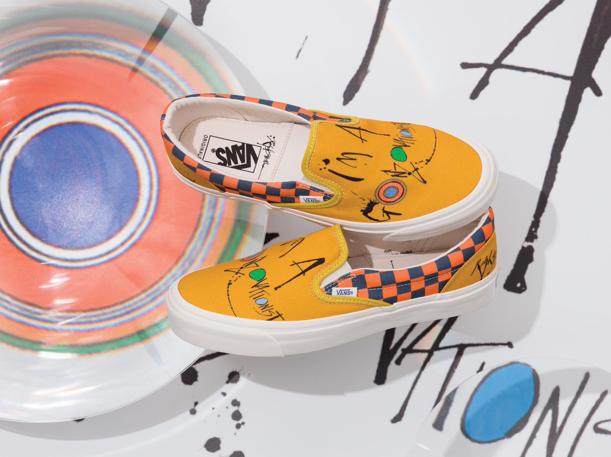 4627868a5c The Vault by Vans x Ralph Steadman collection arrives tomorrow. Learn more  at http   vans.com vault pic.twitter.com NypdHFkm4M