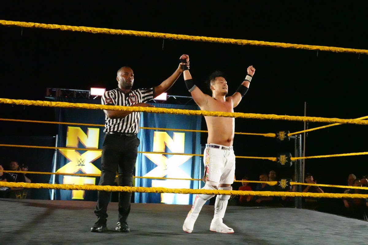 WWE NXT Live Event Results From Orlando (4/25): Kushida Headlines, Horsewomen, Keith Lee, More
