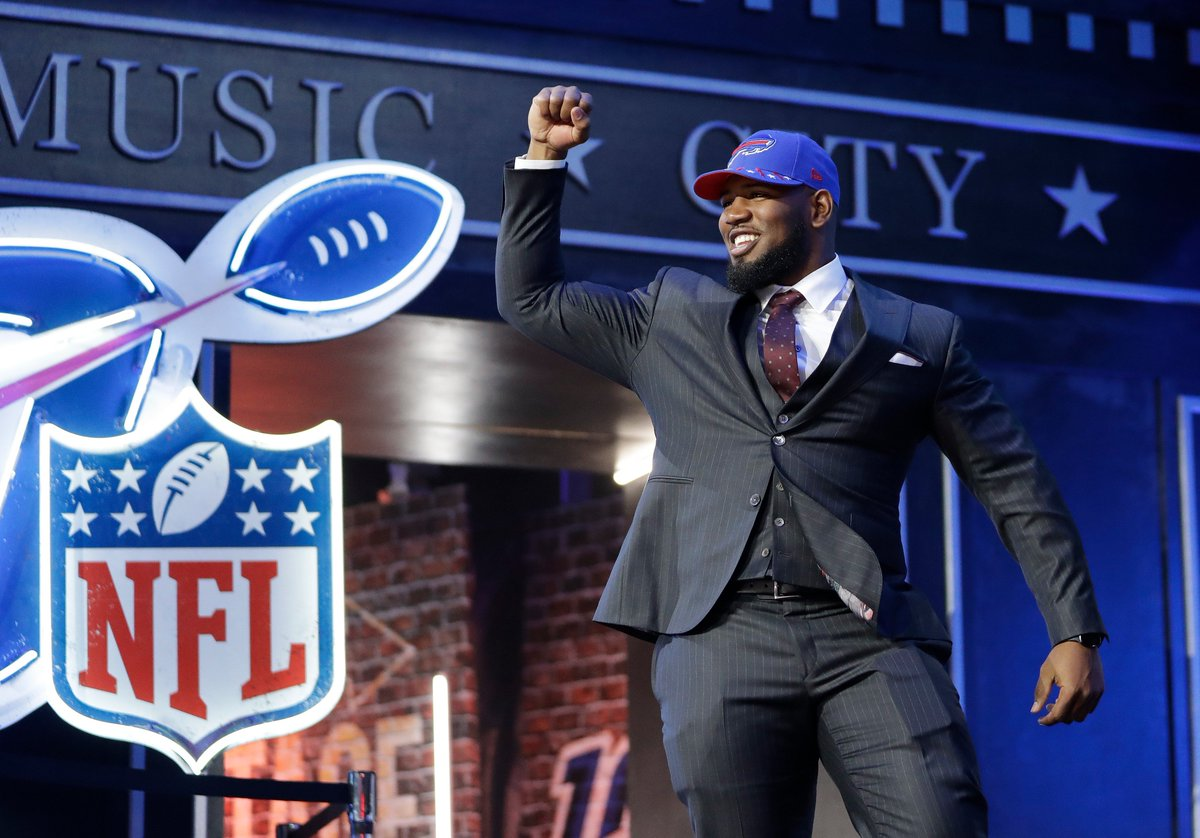 Bills select Houston defensive end