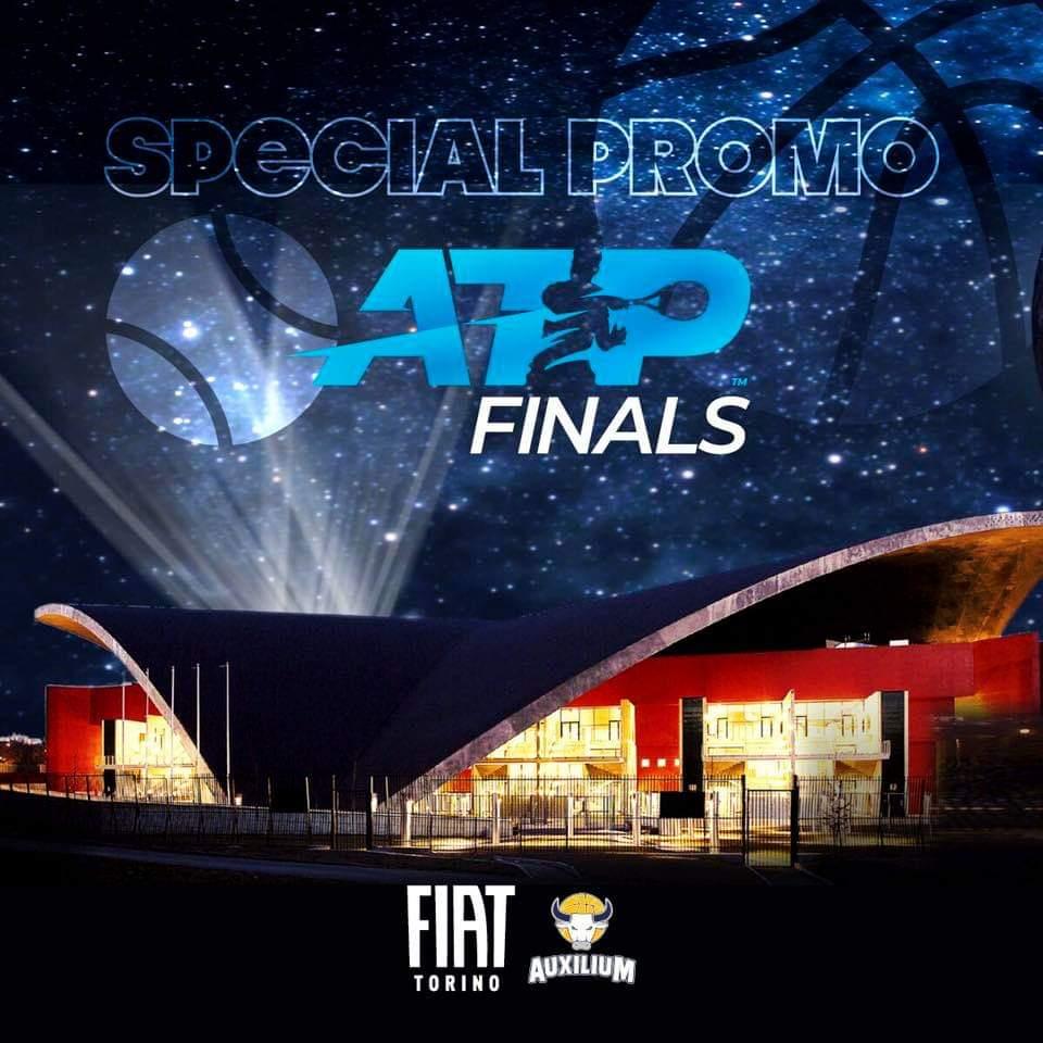 Per celebrare l'assegnazione delle @ATP_Tour Finals a Torino una promo speciale per il match di domenica. Tutti i tesserati Fit che si presenteranno in biglietteria con il tesserino potranno assistere all'incontro al prezzo di € 5, allo stesso prezzo, anche un accompagnatore! https://t.co/MR71BmAjxb