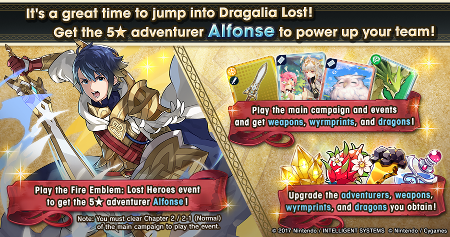 Depending on how many times this tweet is retweeted, we will gift strengthening items that are perfect for beginners to #DragaliaLost players! Support new players by retweeting this post! Further, we'll be giving dragons to 12 randomly selected players! https://dragalialost.com/en/news/detail/431 …