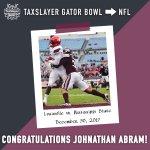 Image for the Tweet beginning: TaxSlayer Gator Bowl ➡️ NFL