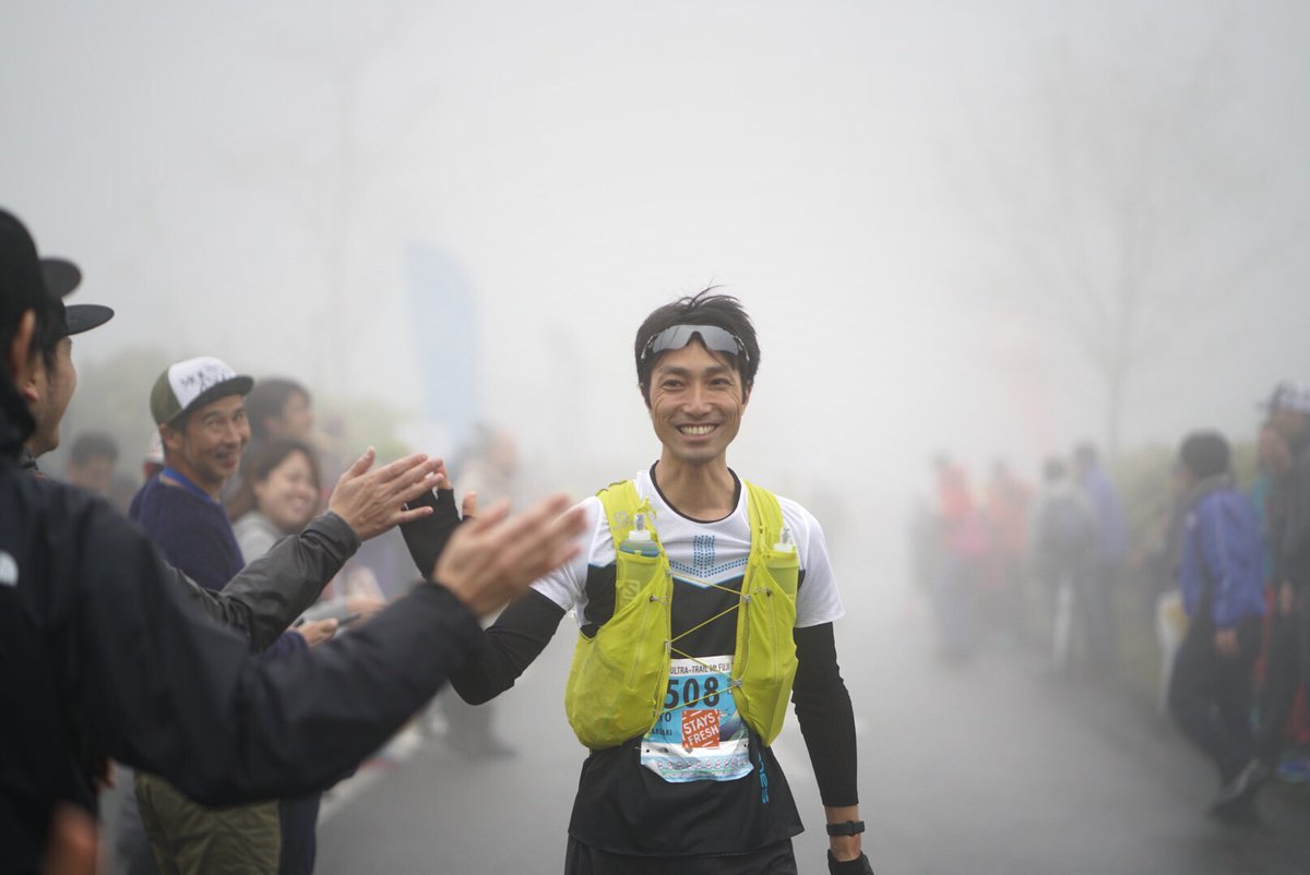 Startline scenes at @UTMtFUJI as the runners head out for 165km in the mountains! #UTMF2019 📷 @lbelchervisuals