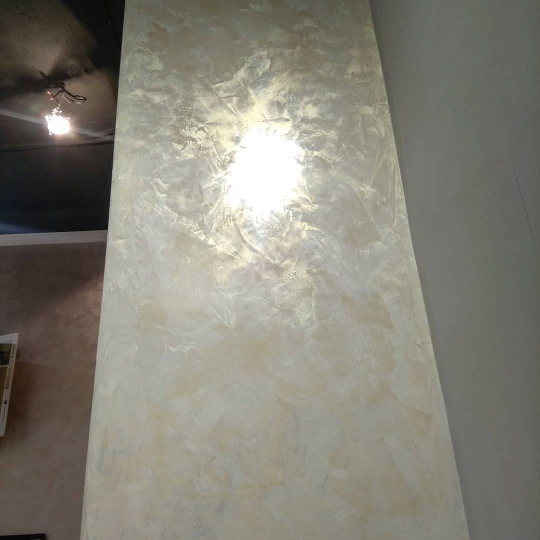 купить воск с перламутром для стен фото строительный элемент экокуб